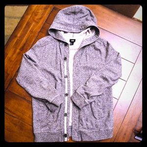 H&M Button up Hoodie